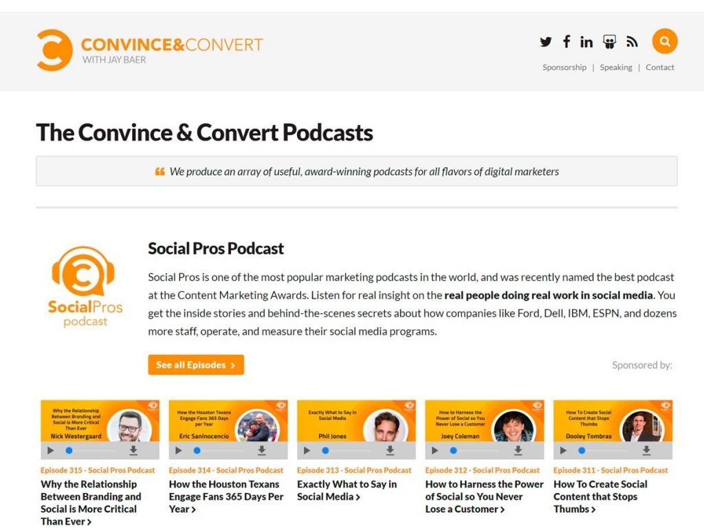 marketing contenidos podcast