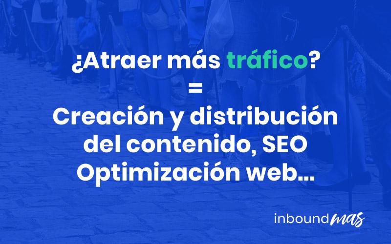 cámo atraer más tráfico web