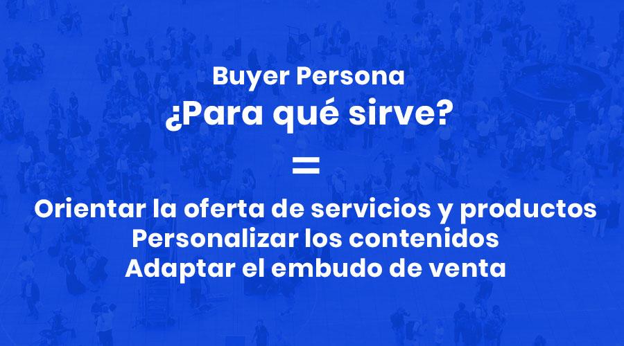 para qué sirve buyer persona